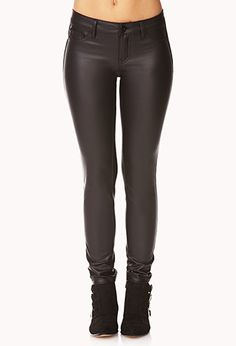 Daring Faux Leather Pants | FOREVER21 - 2000109945
