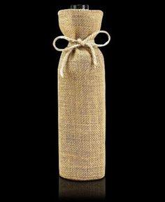 6b00373be El modelo Lisboa es una estupenda funda de botella que fabricamos en tela de  arpillera.