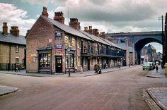 Little Anne Street - Milk Street, Digbeth, 1953 (P.Nicklin) Birmingham News, Birmingham City Centre, Birmingham England, West Midlands, City Art, Old Town, Old Photos, Street View, Milk