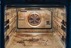 Ultra lang eingebrannte Flecken im Ofen