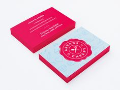 Arends Cakery Business Cards