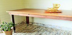 Reclaimed Australian Hardwood, given new life and crafted into this divine dining table. Order for christmas www.dirtyoldtownfurniture.com