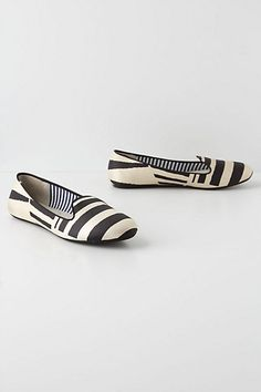 Broken Stripes Loafers - Anthropologie.com