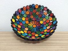 Quilling Dark Basket