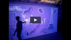 """This is """"globe interactive wall"""" by Clear Channels Inc on Vimeo, the home for high quality videos and the people who love them. Interactive Projection, Interactive Walls, Interactive Media, Interactive Activities, Interactive Design, Exposition Interactive, Interactive Exhibition, Interactive Installation, Installation Art"""