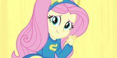 Fluttershy de Mi pequeño pony: Chicas de Equestria