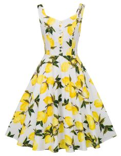 New Belle Poque Homecoming Retro Vintage Sleeveless V-Neck Flared A-Line Dress online shopping - Shrug For Dresses, Pin Up Dresses, Necklines For Dresses, The Dress, Casual Dresses, Summer Dresses, 1950s Style, Retro Style, Robe Swing