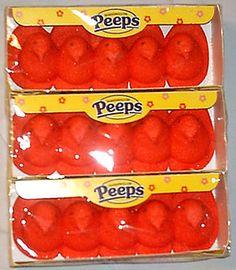 RED PEEPS .... I had no idea.