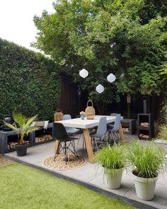 a garden fireplace in the garden - Makeover.nl - a garden fireplace in the garden – Makeover.