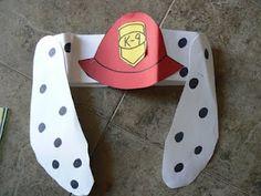 Fire safety week headband - because I first grade we LOVE our headbands!