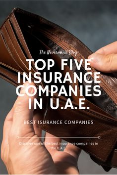 Discover one of the best Insurance companies in your area. Best Insurance, Insurance Companies, Uae, Blog, Blogging