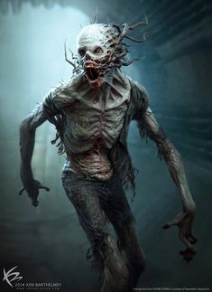 Hey there! I wanted to share a Crank Design I did for the 'Scorch Trials' film. © Twentieth Century Fox To see more Concept Designs I did for this . The Scorch Trials - CRANK Design Monster Art, Monster Concept Art, Monster Design, Zombie Kunst, Arte Zombie, Zombie Art, Fantasy Kunst, Dark Fantasy Art, Dark Art