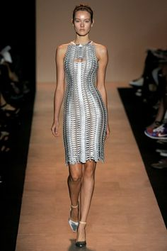 See the complete Hervé Léger by Max Azria Spring 2011 Ready-to-Wear collection.