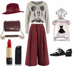 #outfit Weite Hose -die neuen schmeicheln der Figur ♥ #outfit #outfit #outfitdestages #dresslove