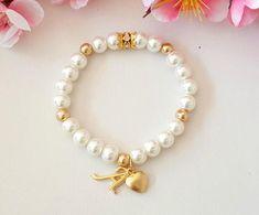 Bridesmaid gift bridesmaid bracelet flower girl bracelet