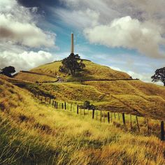 One Tree Hill in Auckland, New Zealand