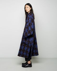 ACNE STUDIOS | Alden Jacquard Coat | Shop at La Garçonne