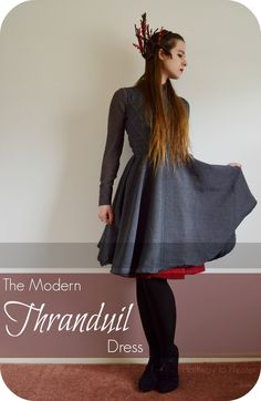 Halfway to Hipster: Modern Thranduil Dress  congratulations, Becca.  Your elven dress is featured this week 12-21-14
