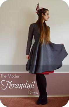Halfway to Hipster: Modern Thranduil Dress  congratulations, Becca.  Your elven dress is featured this week 12-21-14