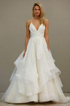 Hayley Paige Spring 2016 Wedding Dress 1 Martha Weddings