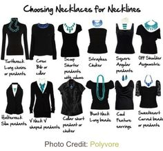 Helpful to choose the right necklace