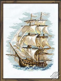 Sailing Vessel I - Cross Stitch Kits by RIOLIS - 479