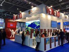 Veneto Region exhibition space at WTM – World Travel Market 2017 in London