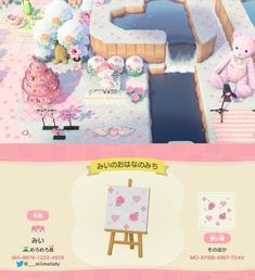 Animal Crossing Wild World, Animal Crossing Guide, Animal Crossing Qr Codes Clothes, Animal Crossing Villagers, Pink Animals, Cute Animals, Overlays Cute, Island Theme, Motifs Animal