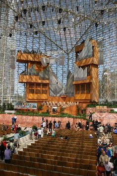 """""""Crystal Cathdral - los Angeles, CA - Architect Philip Johnson"""" 