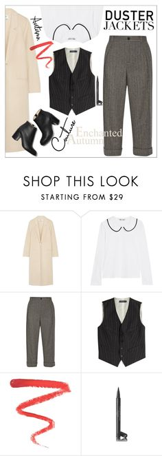 """""""So Cute: Duster Jackets"""" by danielle-487 ❤ liked on Polyvore featuring Acne Studios, Comme des Garçons, Gucci, Polo Ralph Lauren, Paul Andrew, Ellis Faas and Chanel"""