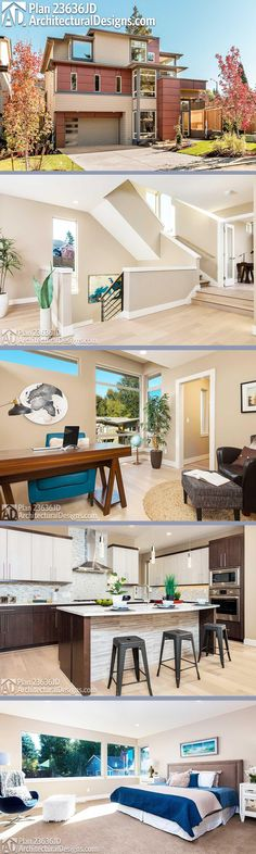plan 85147ms exclusive trendsetting modern house plan modern