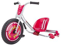 Razor Kids Trike Ride On Tricycle Radio Bike Spark Rider 360 Drifting. My kids love it. Great for of July. Skate Longboard, Free Tire, Trike Bicycle, Tricycle Bike, Ride On Toys, Outdoor Toys, Outdoor Play, Best Christmas Gifts, Christmas Ideas