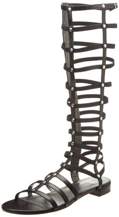 Stuart Weitzman Women's Gladiator Sandal * Tried it! Love it! Click the image. : Strappy sandals