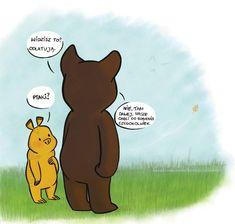 Z najlepszymi zyczeniami. Wombat, Dachshund, Winnie The Pooh, Free Printables, Elf, Disney Characters, Fictional Characters, Humor, Funny
