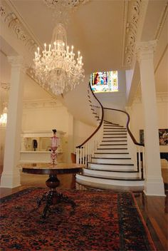 Some New Orleans Stairs…are Grand Stairways