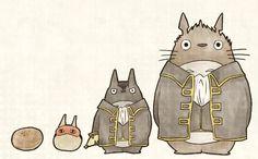 Totoro Shinsengumi!  銀魂 Gintama