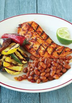 Kick up your summer weeknight dinner with this easy and zesty Mango Chipotle Chicken recipe!