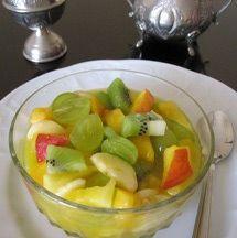 Moroccan Fresh Fruit Salad with Orange Flower Water