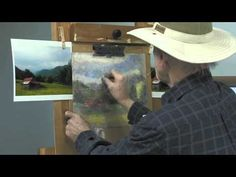 Painting With Pastel Landscape Tutorial
