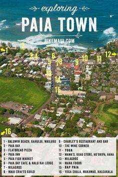 Passing through a day or planning to stay for a week? Here's the 411 on what this hip little hamlet has to offer. #Paia #Maui Trip To Maui, Hawaii Vacation, Maui Hawaii, Hawaii Life, Cozumel, Cancun, Tulum, Maui Travel, Travel Tips