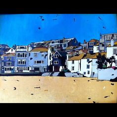 Finally finished one of my entries for The Spring Open, at The Mariners Gallery, St Ives, Cornwall.