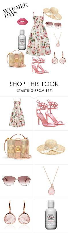"""""""Spring Forward Fashion"""" by kate-jackman ❤ liked on Polyvore featuring Dolce&Gabbana, Zimmermann, Mark Cross, Emilio Pucci, FOSSIL, Kiehl's and springdresses"""