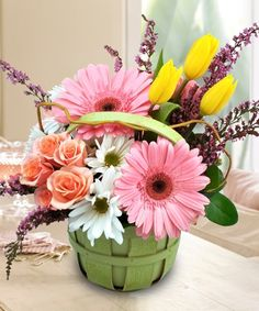 A Country Easter - Griffins Floral Deisgn - Columbus Easter Flowers - Columbus Florist - Same Day Flower Delivery Columbus Ohio