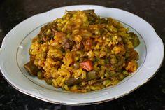 Buena cocina mediterranea: Arroz con costillas ibéricas