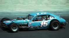 Wayne Anderson #15, 1977 Ford Pinto.