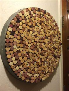 Creative Repurposed Wine Barrel Ring Ideas - The Urban Interior Wine Barrel Crafts, Wine Barrel Rings, Wine Ring, Wine Barrels, Wine Cork Projects, Barrel Projects, Bourbon, Free Lumber, Wine Barrel Furniture