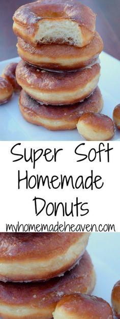 Super Soft Homemade Donuts