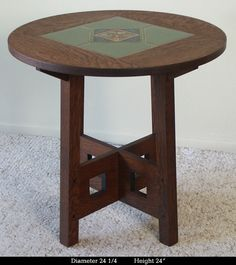 Mission Style Limbert Table