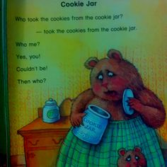 Who Stole The Cookie From The Cookie Jar Book Who Took The Cookies From The Cookie Jar Theme Unit  Camp