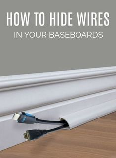 How to hide tiles with quarter round. Cord Hack. Need to spruce up your current home? Take a look at these Older Home Improvement Hacks and budget-friendly DIY Renovations you can do on your own! #FrugalCouponLiving #HomeImprovement #budgetfriendly #thisoldhouse #homedecor #renovations #remodeling #homehacks #homeimprovementtips #tipsandtricks #hacks #quarterround #homeimprovementhacks
